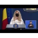 Briefing de presă la finalul ședinței de guvern din 21 iulie, susținut de premierul Florin Cîţu și de membri ai cabinetului